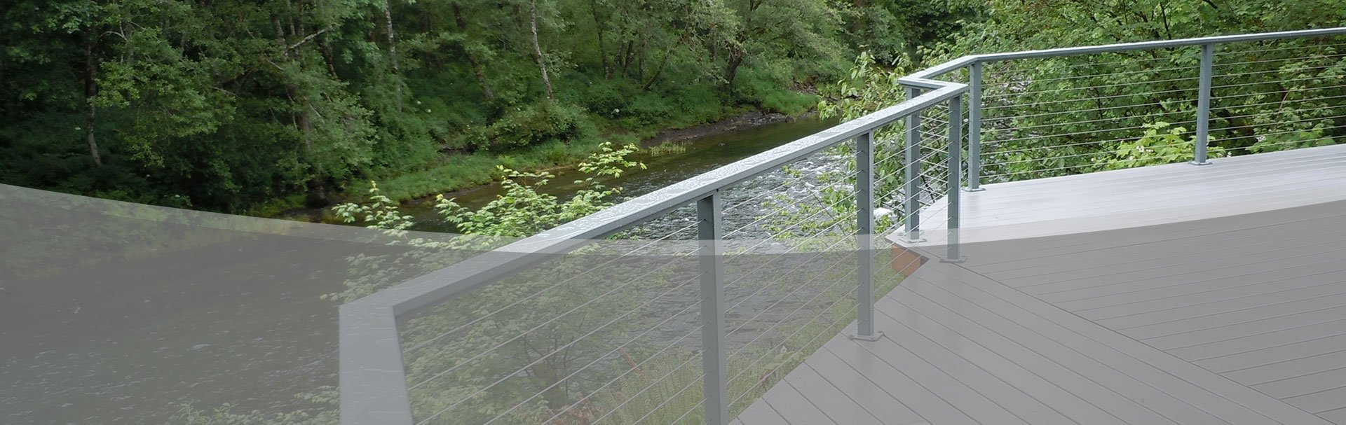 Aluminum Railing   Stainless Cable Solutions
